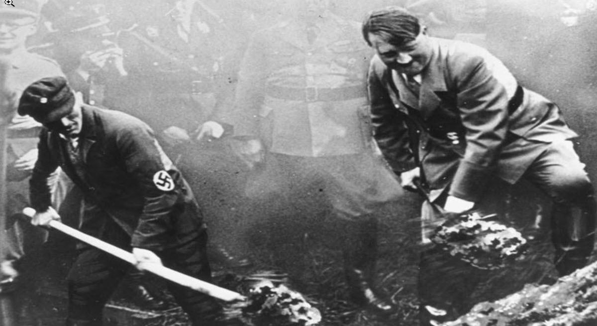 ביסוס המשטר הנאצי בשנים 1933-39